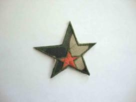 8j Leger applicatie Ster met oranje ster leger19