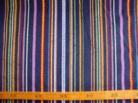 5b Polyester lengtestreep Donkerblauw 4411-7N