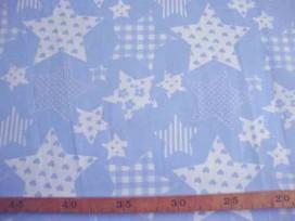 5p Stermotief Lichtblauw/wit 5649-2N