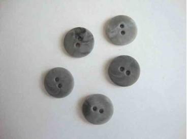 Gemeleerd grijze knoop 20mm. kd301