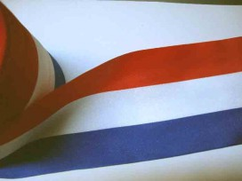 Sierband Nederlandse vlag 100mm