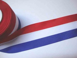 Sierband Nederlandse vlag 70mm