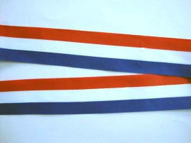 Sierband Nederlandse vlag 50mm