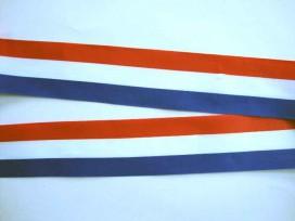 Sierband Nederlandse vlag 40mm.