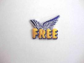 7m Applicatie jongens mini Free met wings