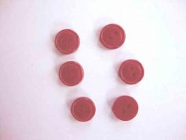 9w Knoop 10mm. Bordeaux 503-10