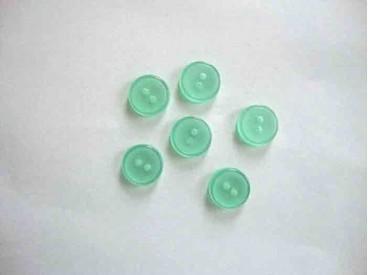 Overhemdknoopje Groen 12mm. 103-12