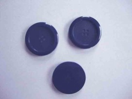 9m Mantelknoop Donkerblauw 28mm. mk313