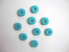 Knoop 12mm. Aqua 105-12