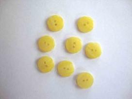 9m Knoop 12mm. Geel gestreept 113-12