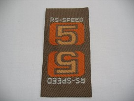 9a RS speed 5 camel/oranje/geel R