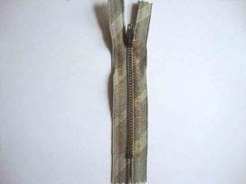 Broekrits metaal div. fijn 12 cm. met oranje tekst