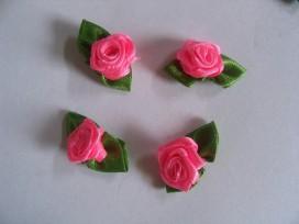 Bloem applicatie roosje Pink