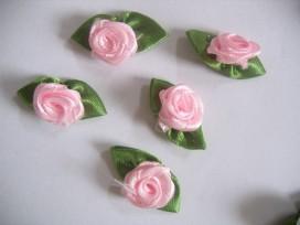 Bloem applicatie Roosje Roze