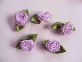 Bloem applicatie Roosje lila