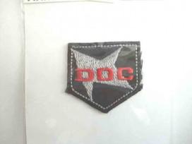 DOC Zwart/grijs/rood