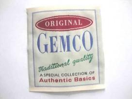 Original Gemco  opnaaibare applicatie van 10 x 11 cm.