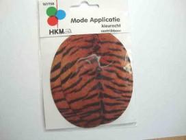 Kniestukken met tijgerprint 167-158