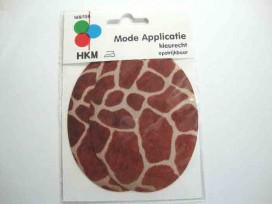 Kniestukken met een giraffe print 168-158