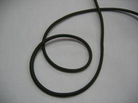 1f Legergroen koord elastiek