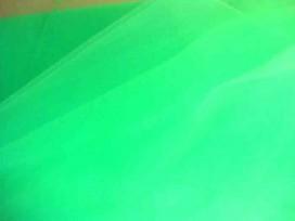Bruidstule Fluor groen