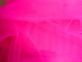 Bruidstule Fluor pink
