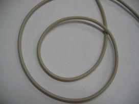 1h Zandkleurig koord elastiek