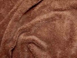 Wellness fleece Donkerbruin 5358-58N