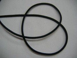 1l Zwart koord elastiek