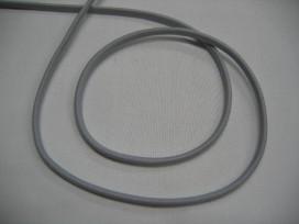1m Lichtgrijs koord elastiek