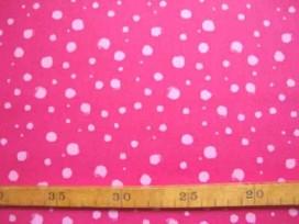 5c Katoen TST Stipjes Pink/Roze 9307-17N