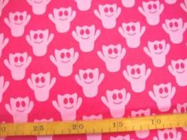 Katoen Spookjes TST Pink Roze 9305-17N