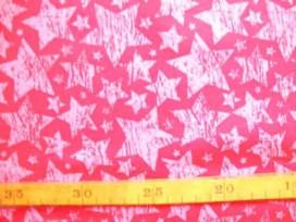 5b Katoen TST Streeepster Pink/Roze 9309-17N