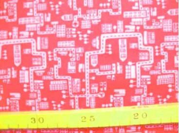 Katoen Straathuisje TST Pink Roze 9306-17