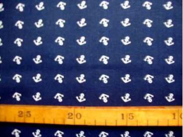 Katoen Nooteboom Anker Donkerblauw 9304-8N