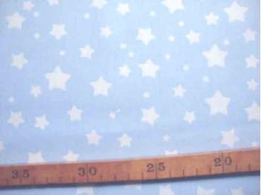 Katoen Nooteboom Ster Lichtblauw 9303-2N