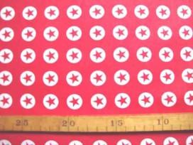 Katoen Nooteboom Cirkel Ster Rood 9302-15N