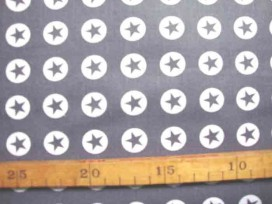 Katoen Nooteboom Cirkel Ster Donkergrijs 8302-68N