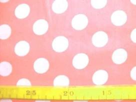 5b Katoen Noteboom Grote Stip Roze 9301-13N