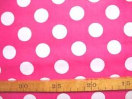 Katoen Nooteboom Grote Stip Pink 9301-17N