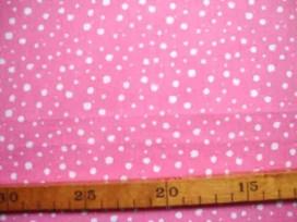 Katoen Nooteboom Kleine Stip Roze 9300-13N