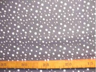 Katoen Nooteboom Kleine Stip Donkergrijs 9300-68N