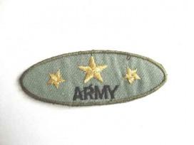 Leger applicatie Ovaal Army met 3 gouden sterren leger 22