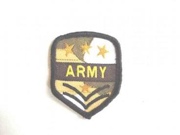 8o Leger applicatie Army. 3 gouden sterren klein leger 24