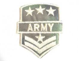 8p Leger applicatie Army/4 witte sterren groot leger 25