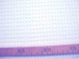 Wafeldoek Grof Wit 2902-50N