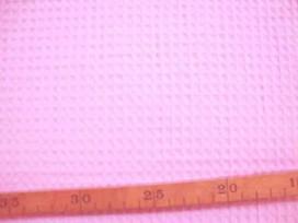 4z Wafeldoek Grof Roze 2902-13N