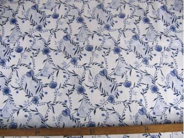 Delftsblauw  met takjes  10