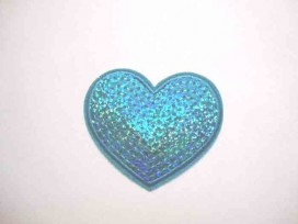 5e Glitter Hartje Aqua GHA