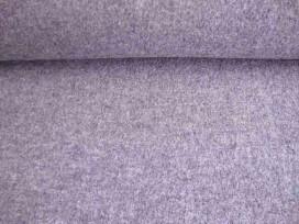 Mooie zware kwaliteit voorgekookte lichtgrijs gemeleerde boucle wolvilt.  Rafelt niet. Zeer geschikt voor jasjes.  100% wol  1.4